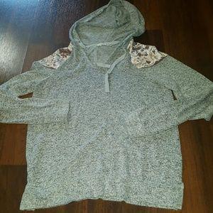 Hippie Rose hoodie